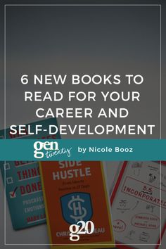 Here are six new career and self-development books coming out this summer and fall. Which of these new books will you be picking up?