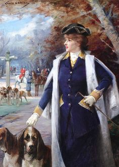 Fine Art, Oil Painting, Belle Époque Genre Painting, Louise Abbéma ~ M.S. Rau Antiques