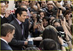 henry cavill man of steel madrid premiere