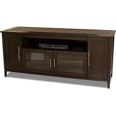 "Tech-Craft Wide Espresso ""Hi-Boy"" Flat Panel TV Credenza cymax for 491 Furniture Plans, Living Room Furniture, This Ole House, Tv Credenza, Cherry Wood Furniture, Island Chairs, Kitchen Reviews, Home Entertainment Furniture, Flat Panel Tv"