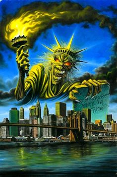 IRON MAIDEN.....PARTAGE OF ALL ROCK ON FACEBOOK.....