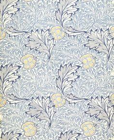Apple wallpaper, by William Morris (V&A Custom Print)