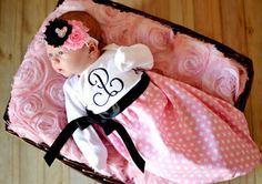Looking for something special for your baby girl to wear home? Look no further! We offer diaper covers, newborn gowns, tutu sets, unique shower