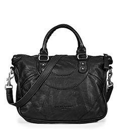 Esther B Vintage, Liebeskind #black #leather #bag #fashion