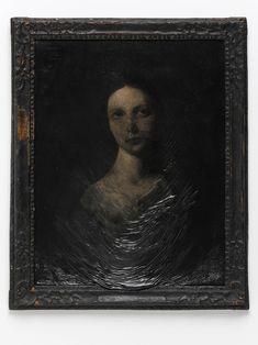 Nicola Samori, Diario Omogeneo, 2012, oil on wood, 66 x 54 cm (with frame)