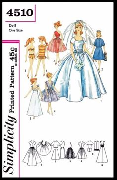 Barbie Doll Patterns To Sew Crochet, Carving, Patterns. Barbie Doll Patterns To Sew Sewing Doll Clothes, Sewing Dolls, Doll Clothes Patterns, Doll Patterns, Craft Patterns, Clothing Patterns, Dress Patterns, Crochet Patterns, Barbie Sewing Patterns
