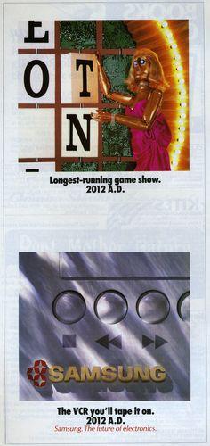 1988 Samsung ad in Smithsonian magazine