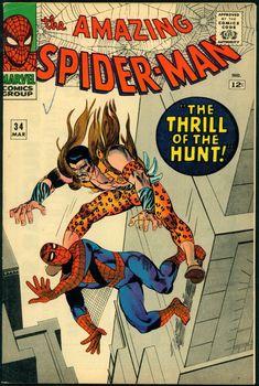 Amazing Spider-Man # 34 , March 1966 , Marvel Comics Vol 1 1963 tumblr_nj0i2onx7l1rn55nzo1_540.jpg (540×803)