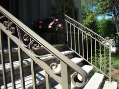 great custom exterior railing systems by f c professional aluminum