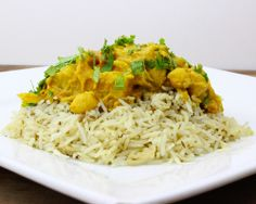 Madras Winter Curry - Kabocha squash, tomatoes, fennel, onions, celery root, new potatoes, cumin scented rice pilaf, Madras curry spices, coconut milk