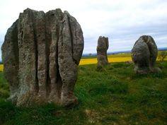 Duddo Stone Circle in Northumberland.
