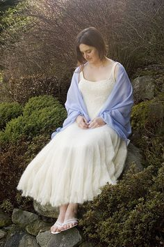 knit WEDDING DRESS... I would love to make this for my daughter when she grows up and gets married
