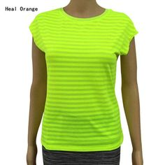 Womens Running T Shirt Fitness