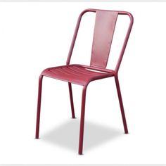 Red Café Chair | Modern Vintage Furniture | Loft