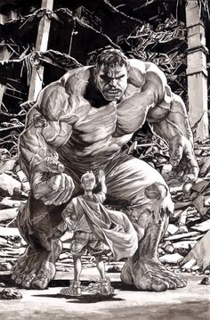 Hulk by Lee Bermejo  Comic Art
