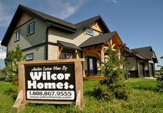 The Timber Haven. Custom two storey Timber Frame design by Wilcor Homes #gabledetail #springlakeranch