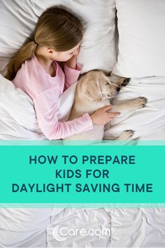 There are a few ways to make daylight saving time and changing sleep schedules a little easier on the whole family. Here are the most seamless ways to prepare kids for DST. Clock Spring, Saving Time, Sleep Schedule, Daylight Savings Time, Fall Back, Parent Resources, Kids Sleep, Parenting Advice, Bedtime