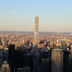 2016 also saw the rise of skinny skyscrapers