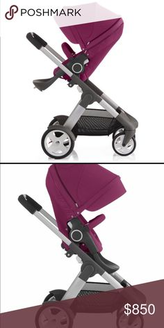 Stokke crusi stroller Barely used. Still like new in plastic comes with plastic cover and mosquito net. stokke Other