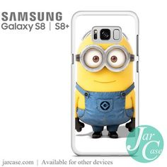 Minion Phone Case for Samsung Galaxy S8 & S8 Plus