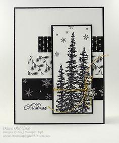 Winter Wonderland card shared by Dawn Olchefske for DOstamperSTARS Thursday Challenge DSC#157 #dostamping #stampinup