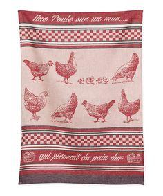 CHICK CHICKEN LINEN TEA TOWEL Madeleine Floyd Ulster Weavers Easter Kitchen