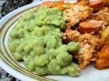 Mushy peas, it's a British Thing...