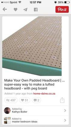 Headboard making