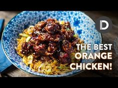 (21) The BEST Orange Chicken Recipe! - YouTube