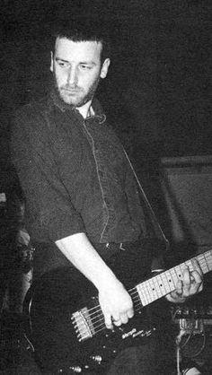 Peter Hook - Joy Division  New Order bass player #joydivision #neworder