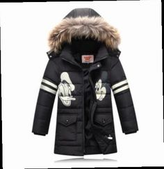 48.99$  Buy now - http://alitnn.worldwells.pw/go.php?t=32692830921 - Top Quality Parka Fashion Children's Winter Jacket  Cartoon Thick Down Jacket Boys Down Jacket White Duck Down Coat