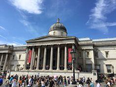 #london #trafalgarsquare #nationalgallery