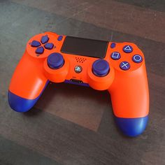 Sunset Orange Wireless Controller shell full housing case repair parts for PlayStation 4 Controller Playstation, Xbox, Control Ps4, Ps4 Controller Custom, Boys Game Room, Mundo Dos Games, Lego Pictures, Gaming Room Setup, Ps4 Games