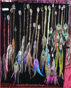 Znalezione obrazy dla zapytania dreadlocks with feathers
