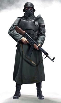 Misanthropic Division iconography appears to be inspired more by Return to Castle Wolfenstein than the proto-Nazis