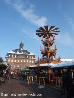 large christmas pyramid at hanau christmas market christmas markets germany german christmas markets about