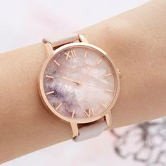Ladies Semi Precious Blossom Rose Gold Olivia Burton London Olivia Burton US Trendy Watches, Cool Watches, Watches For Men, Cheap Watches, Women's Watches, Rose Gold Watches, Wrist Watches, Gold Watches Women, Ladies Watches