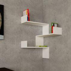 Decortie Design Luksa Corner Shelf & Reviews | Wayfair