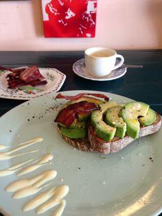 Avo Toast  @ the Kitchen, Cape Town