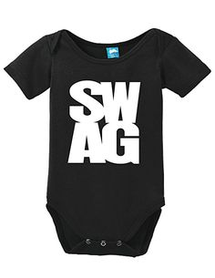 SWAG Onesie Funny Bodysuit Baby Romper: Amazon.ca: Clothing & Accessories