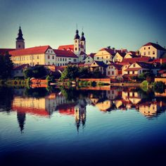 """See 99 photos and 7 tips from 953 visitors to Zámek Telč. """"Worth the 10 crowns cents) to walk the castle grounds but better to go to the up the. World Heritage Sites, Czech Republic, Prague, Four Square, Castles, To Go, Bohemian, Mansions, House Styles"""