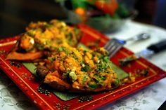 The Daily Plate: Savory Indian Sweet Potatoes