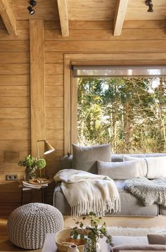 Interior Home Design Trends For 2020 - New ideas Cabin Homes, Log Homes, Cabin Design, House Design, French Cottage Decor, Cabin Interiors, Home Fashion, Home Deco, My Dream Home