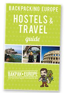 Download Bakpak Dave's free and popular Backpacking Europe Hostels and Travel Guide is packed with info for traveling around Europe on a budget. It includes over 400 hostel listings, tons of cheap and free things to do plus money-saving tips on local transportation, attractions and more!