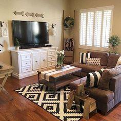 24 Cozy Farmhouse Living Room Decor Ideas