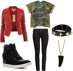 """Outfit inspired by: BTS in """"Attack of Bangtan"""" Show Champion 131106"""