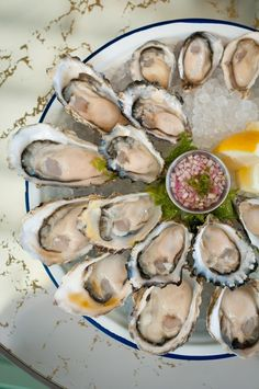 Ironside's exclusive oyster select - San Diego Restaurants