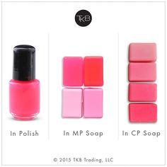 Stable and non-bleeding. Soap Colorants, Homemade Soap Recipes, Soap Molds, Home Made Soap, Soap Making, Nail Polish, Lipstick, Neon, Cosmetics