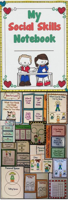 This interactive student notebook provides engaging lessons to teach your students all about social skills. This is a best selling resource from Teachers Pay Teachers! Click here to download this amazing resource for teaching social skills!