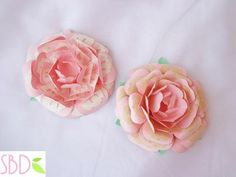 Fiori di carta New style tutorial e modelli - Paper flowers New Style templates - Paperblog Blog, New Homes, Rose, Flowers, Plants, How To Make, Handmade, Design, Style